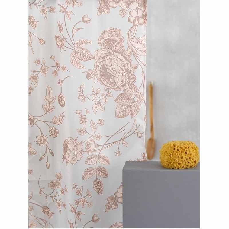 Κουρτίνα Μπάνιου (180x180) Palamaiki Shower Curtains Flora