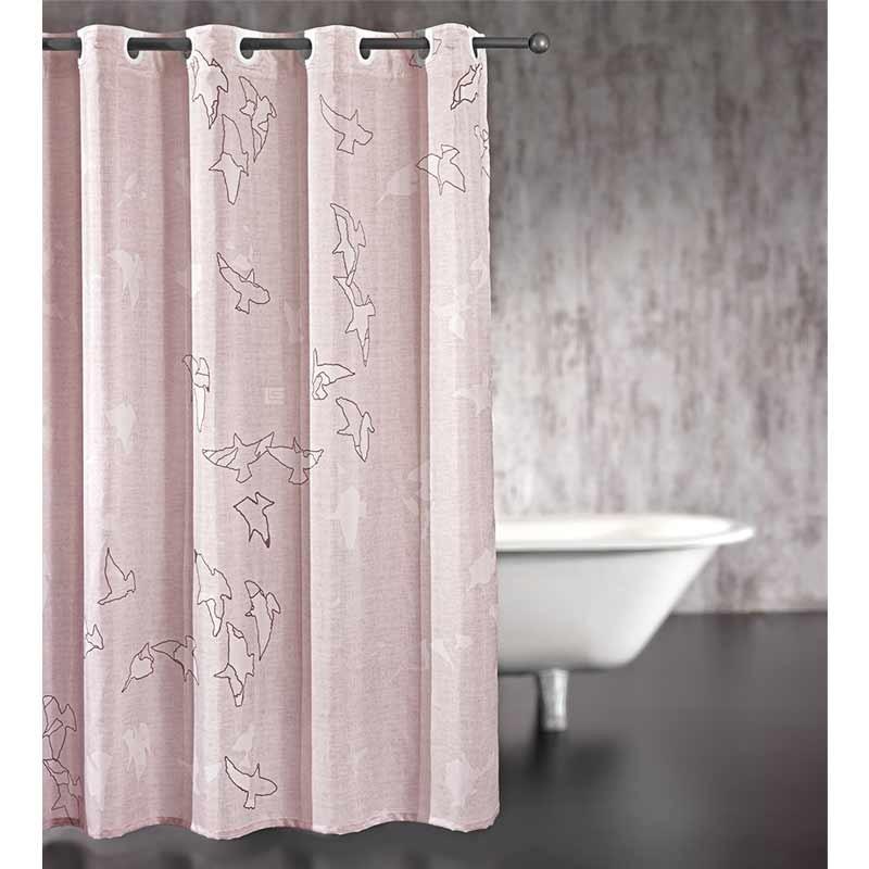 Κουρτίνα Μπάνιου (240x185) Guy Laroche Freedom Old Pink