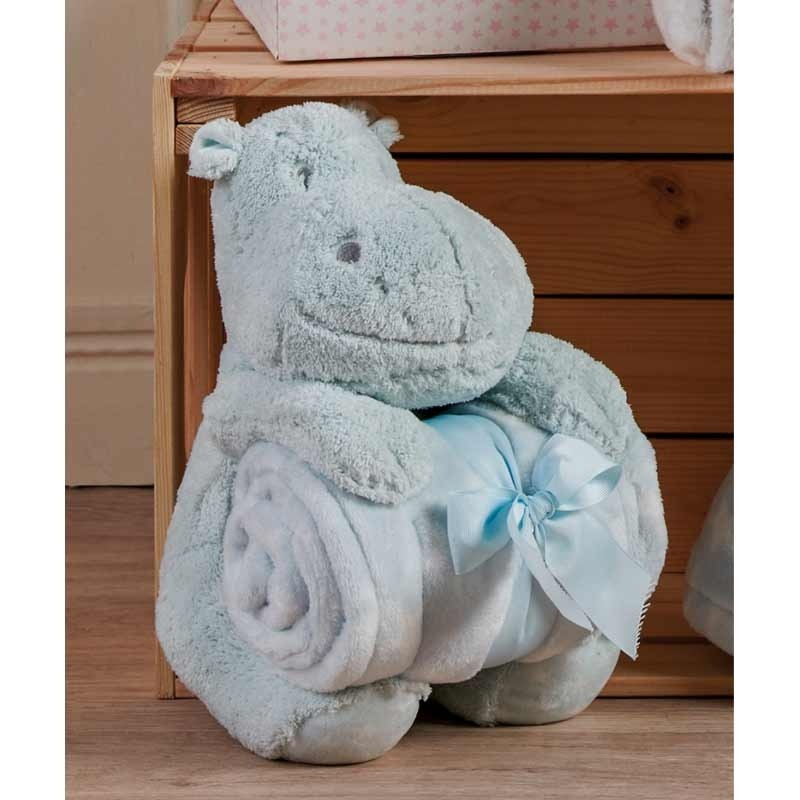 Κουβέρτα Αγκαλιάς με παιχνίδι (25εκ) KENTIA Hippo 181