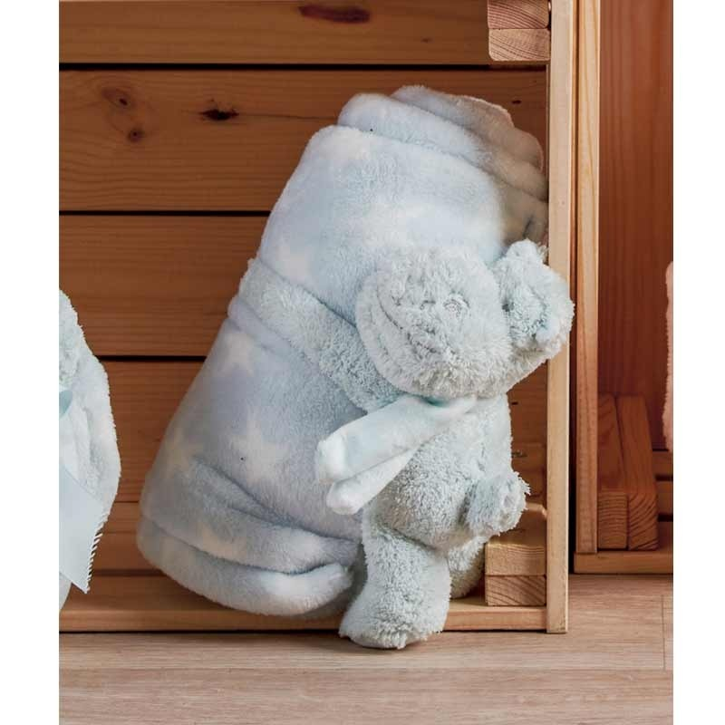 Κουβέρτα Αγκαλιάς με παιχνίδι (13εκ) KENTIA Hippo 182