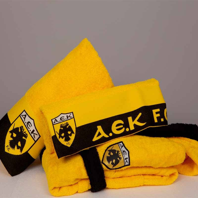 Πετσέτα Μπάνιου Palamaiki FC AEK