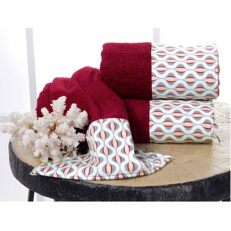 Σετ Πετσέτες 3τμχ Sb Home Infinity Towels 02.00206