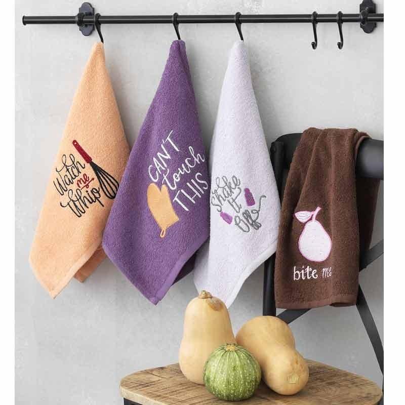 Σετ Πετσέτες κουζίνας 4τμχ (40x60) Palamaiki Kitchen Collection KT080