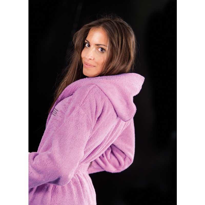 Μπουρνούζι με κουκούλα (XL) Guy Laroche Daily Violet 1131092110008