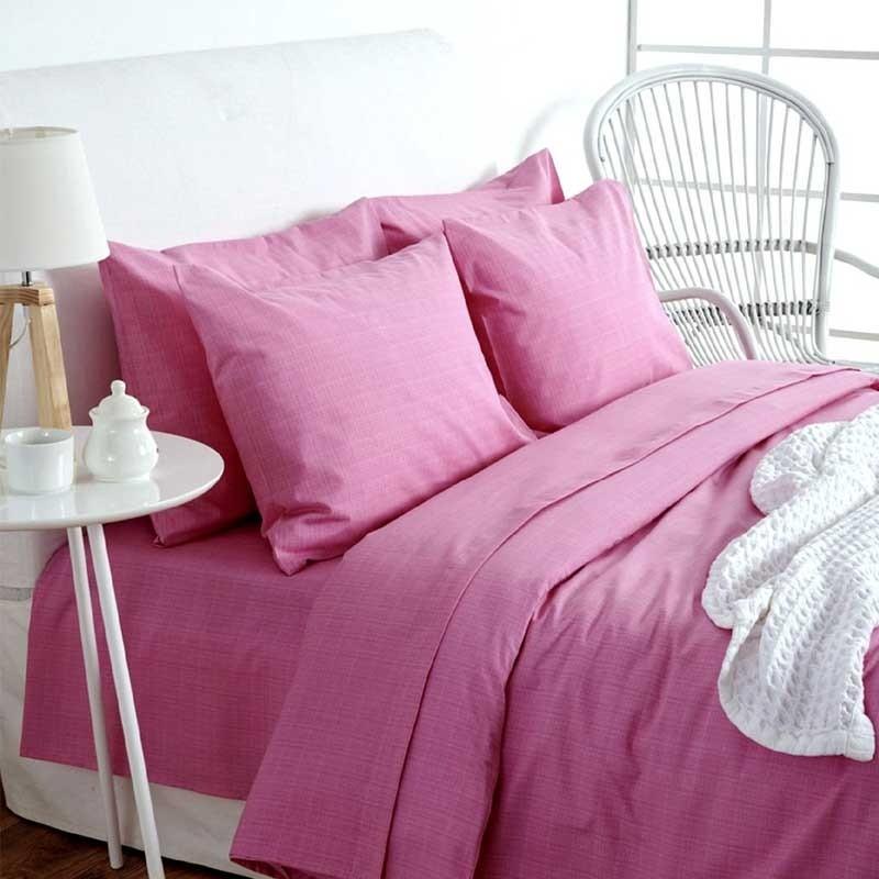 Σετ Σεντόνια Μονό Sb Home Lucifer Pink 01.02060