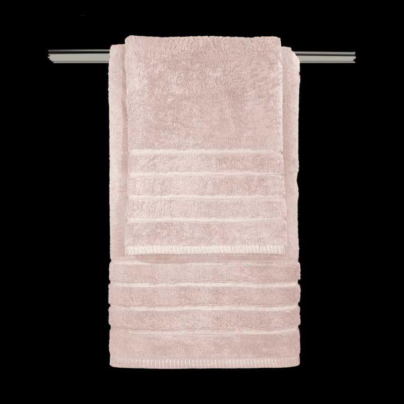 Σετ Πετσέτες 3τμχ Guy Laroche Mezzo Old Pink