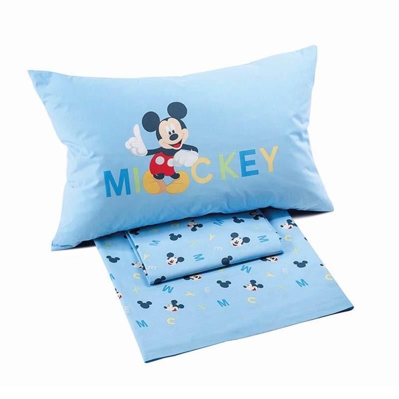 Σετ Σεντόνια Παιδικά Ημίδιπλα (Fitted) Palamaiki Disney Mickey BoysΣετ Σεντόνια Παιδικά Ημίδιπλα (Fitted) Palamaiki Disney Mickey Boys