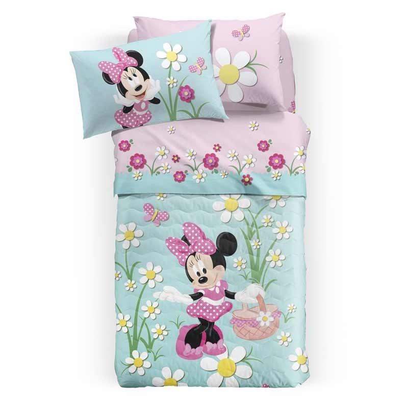 Κουβερλί Παιδικό Ημίδιπλο Palamaiki Disney Minnie Country