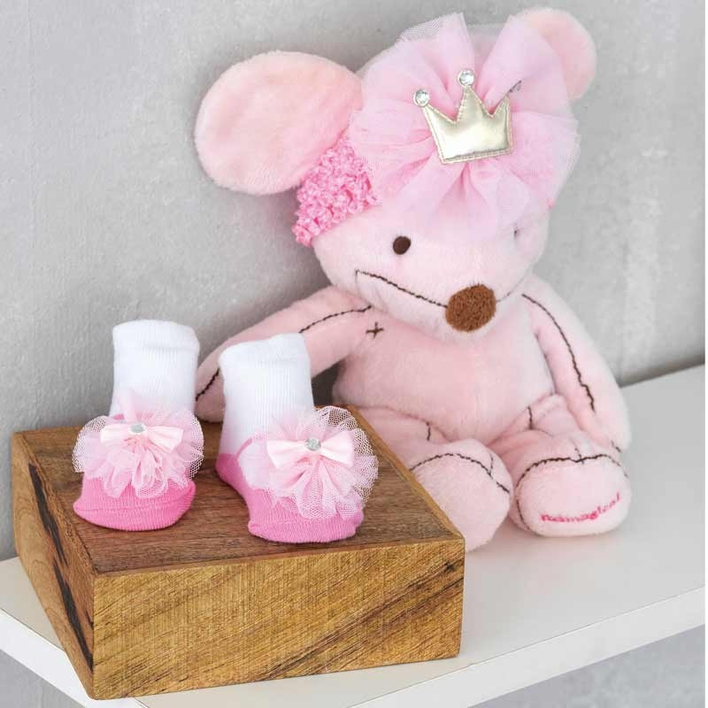 Σετ Bebe για δώρο 3τμχ Palamaiki New Baby Collection NB-0112 Pink