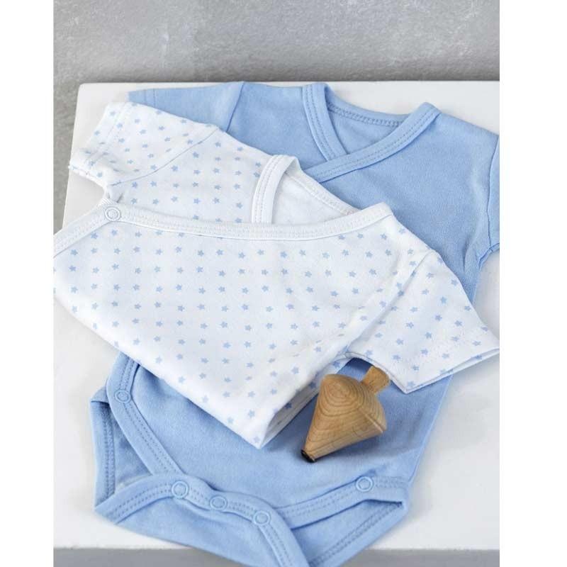 Σετ Bebe 2τμχ Φορμάκια για δώρο Palamaiki HOME New Baby NB-0118 Blue 5205857185343