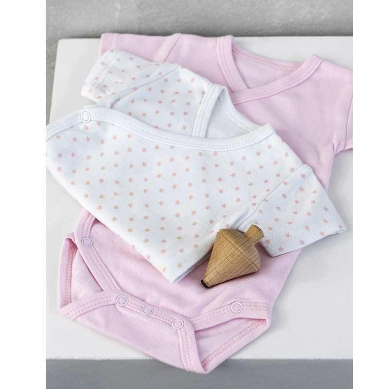 Σετ Bebe 2τμχ Φορμάκια για δώρο Palamaiki HOME New Baby NB-0118 Pink 5205857185350