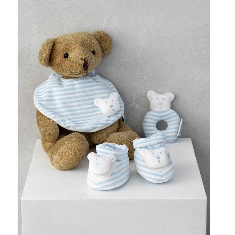 Σετ Bebe 3τμχ για δώρο Palamaiki HOME New Baby NB-0119 Blue 5205857185367