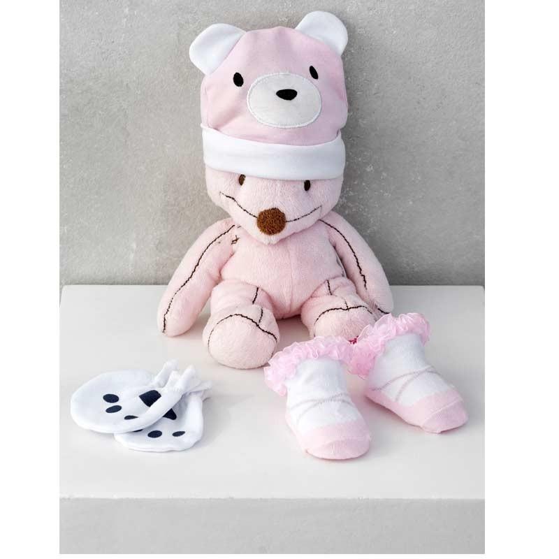 Σετ Bebe 3τμχ για δώρο Palamaiki HOME New Baby NB-0120 Pink 5205857185398