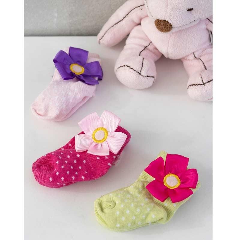 Σετ Bebe 3τμχ για δώρο Palamaiki HOME New Baby NB-0122 Girl 5205857185411
