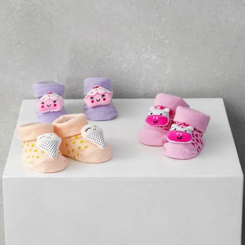 Σετ Bebe 3τμχ για δώρο Palamaiki HOME New Baby NB-0123 Girl 5205857185435