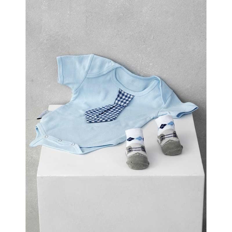 Σετ Bebe 2τμχ για δώρο Palamaiki HOME New Baby NB-0125 Boy 5205857185466