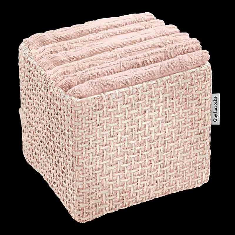 Σετ Πετσέτες 6 τμχ (30x30) Guy Laroche Guest Old Pink