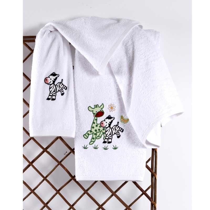 Σετ Πετσέτες Βρεφικές Sb Home Ollie & Zemo Mint 05.00184