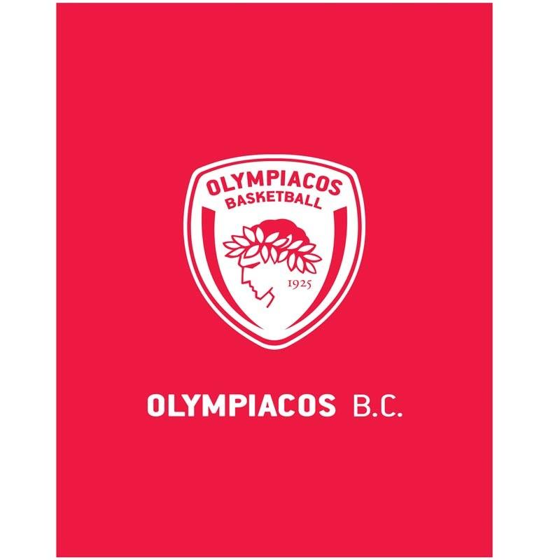 Κουβέρτα Αγκαλιάς Fleece Palamaiki Olympiacos BC 1925