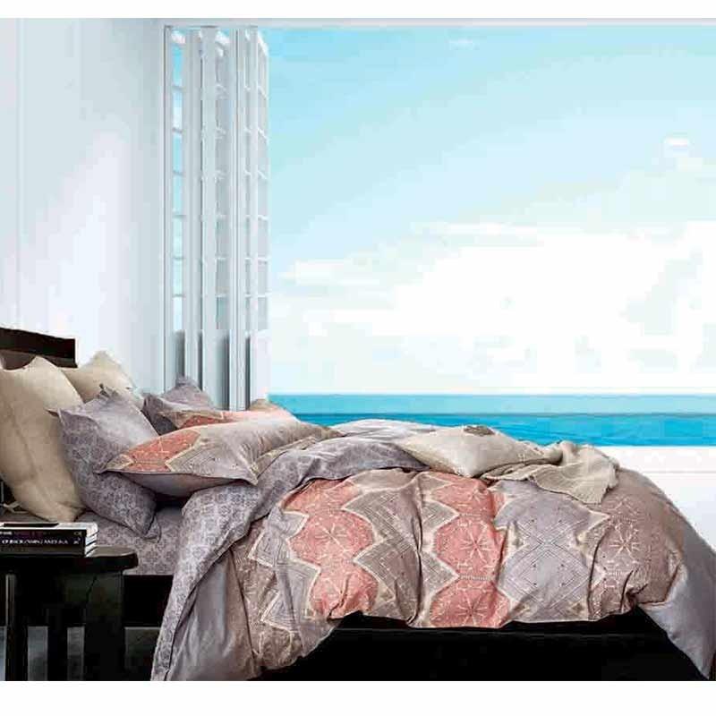Σετ Παπλωματοθήκη Υπέρδιπλη Makis Tselios home Option 124430123456