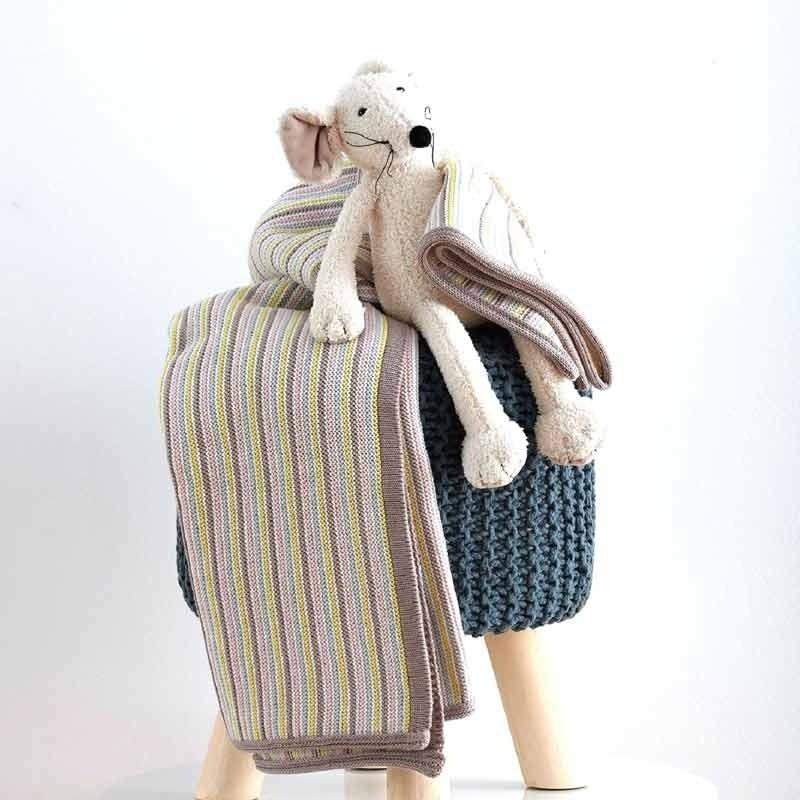 Κουβέρτα Αγκαλιάς Πλεκτή Βρεφική Sb Home Paint 05.00236
