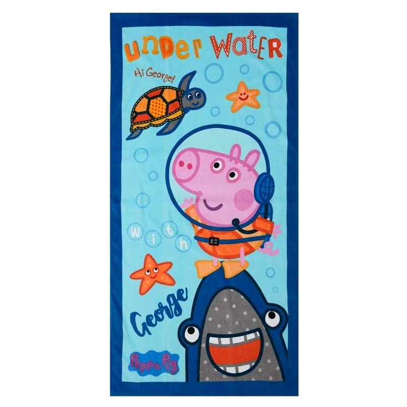 Παιδική Πετσέτα Θαλάσσης Dim Collection Disney Peppa-2