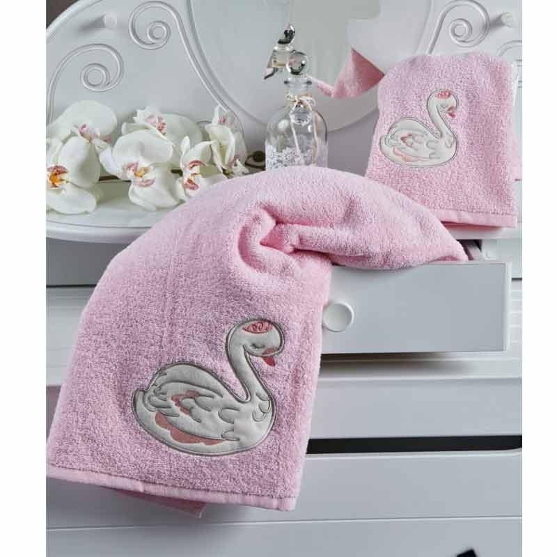 Σετ πετσέτες βρεφικές 2 τμχ KENTIA Pirouette