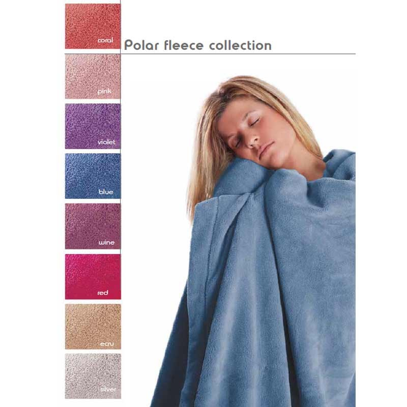 Κουβέρτα Fleece Ημίδιπλη Palamaiki Polar Fleece Collection