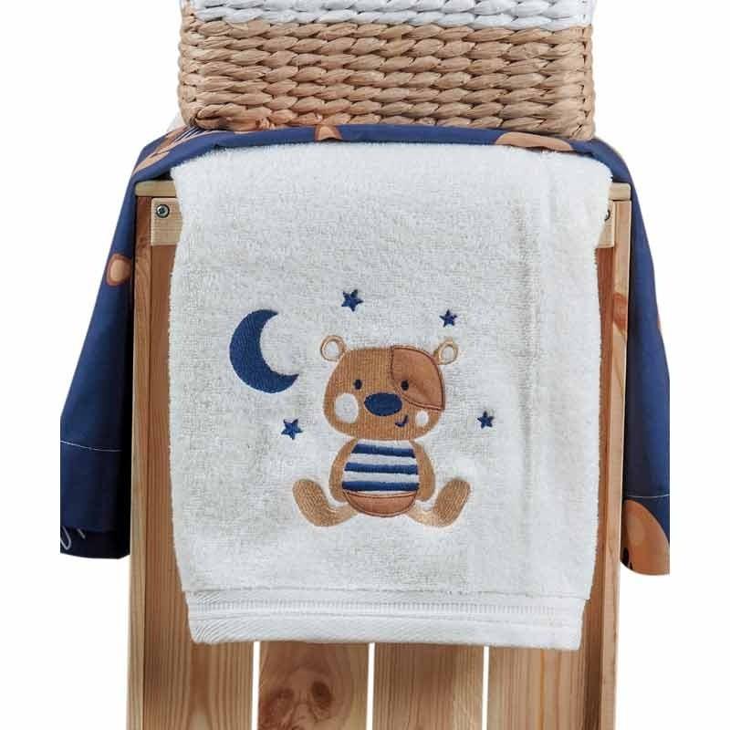 Σετ πετσέτες βρεφικές 2 τμχ KENTIA Pookie