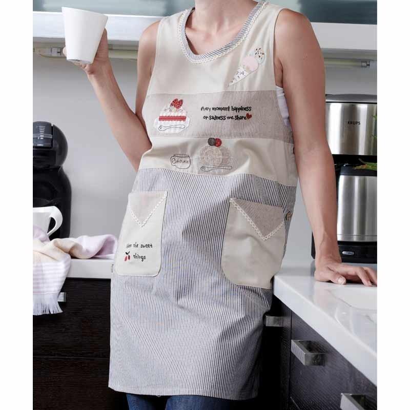 Ποδιά Κουζίνας (52x90) KENTIA Kitchen Pretty 182
