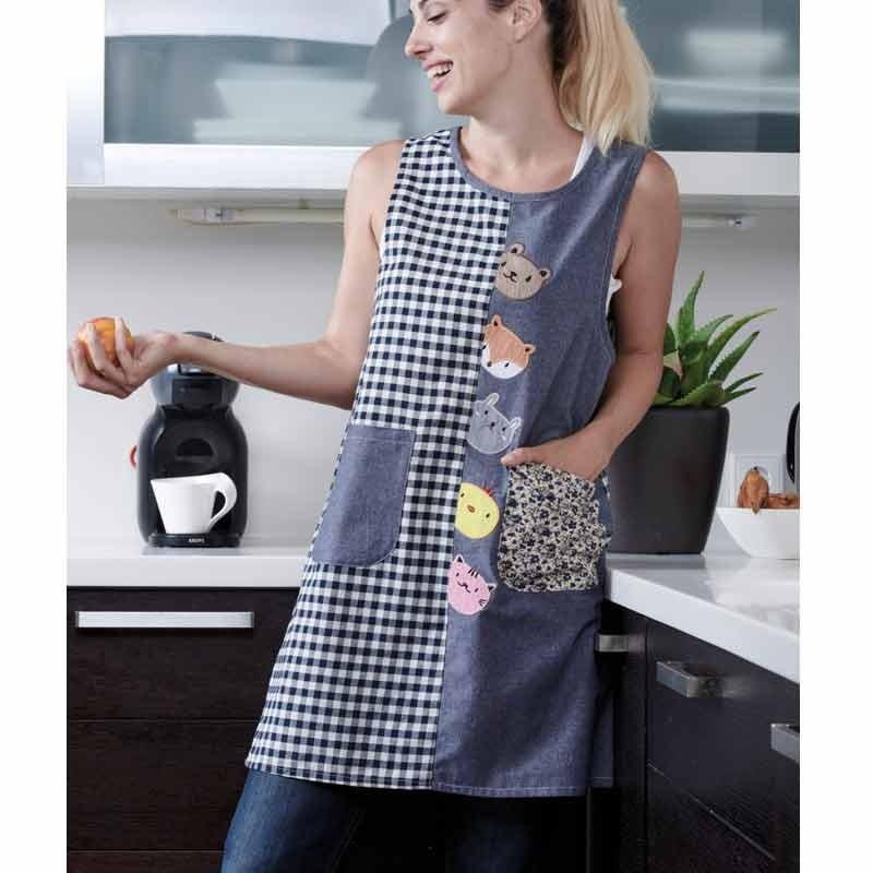 Ποδιά Κουζίνας (52x90) KENTIA Kitchen Pretty 188