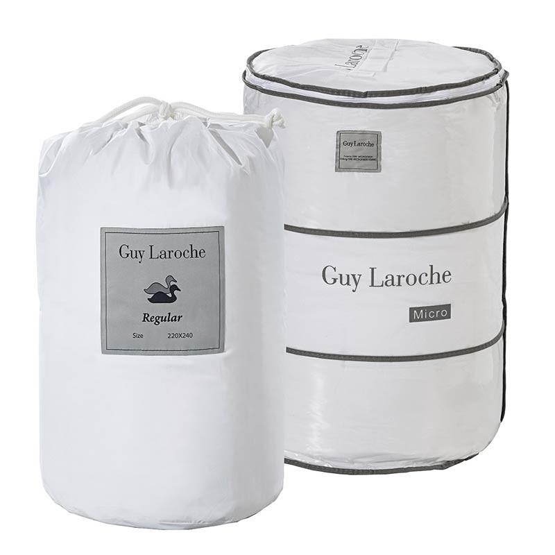 Πάπλωμα Πουπουλένιο Μονό & Δώρο Πάπλωμα Fine Guy Laroche 80-20 Regular