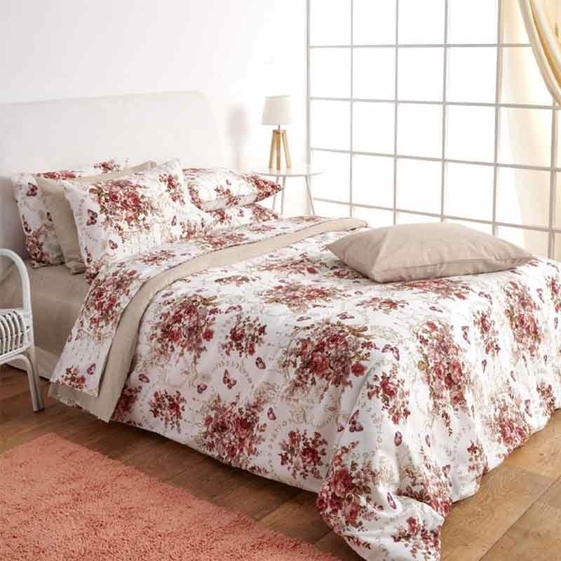 Σετ Σεντόνια Μονά Sb Home Roses 01.02041