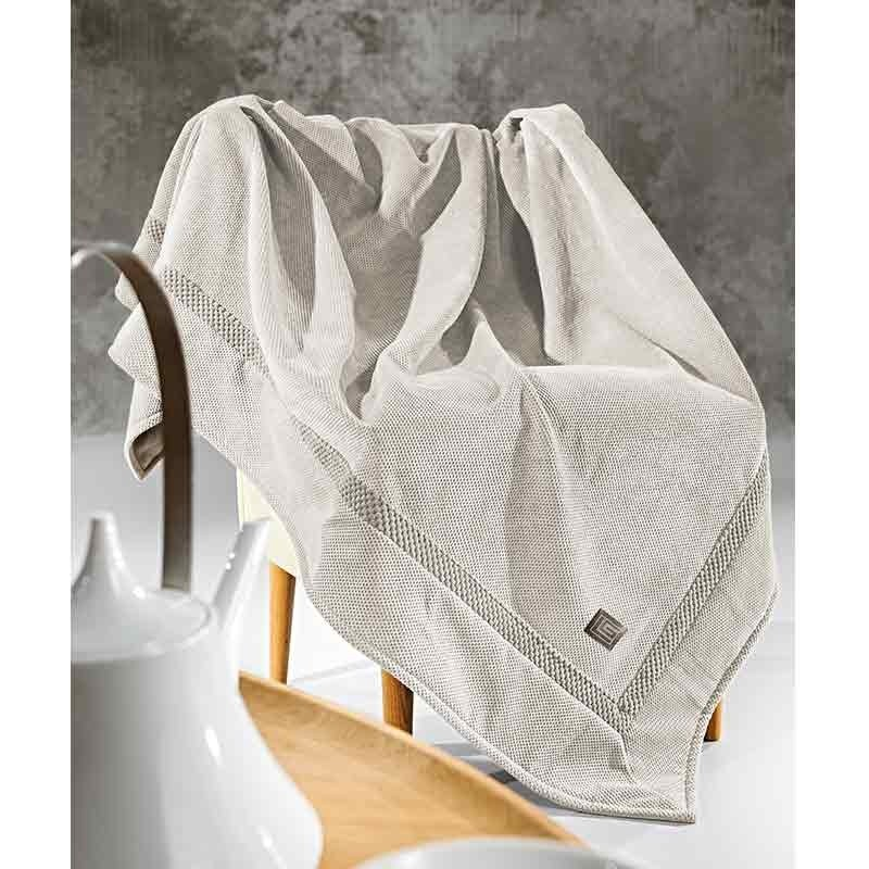 Ριχτάρι Διθέσιο Guy Laroche Microvelour Throws Rubicon Sand