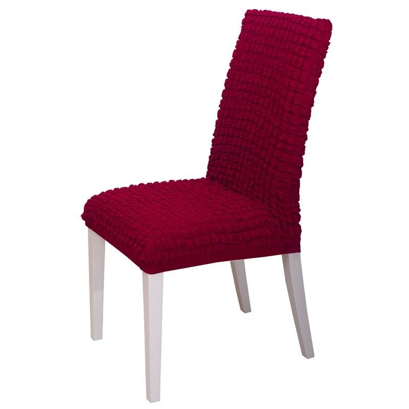 Κάλυμμα Καρέκλας Ελαστικό Viopros Σχ. Casual Χρ. Μπορντώ 67200805020
