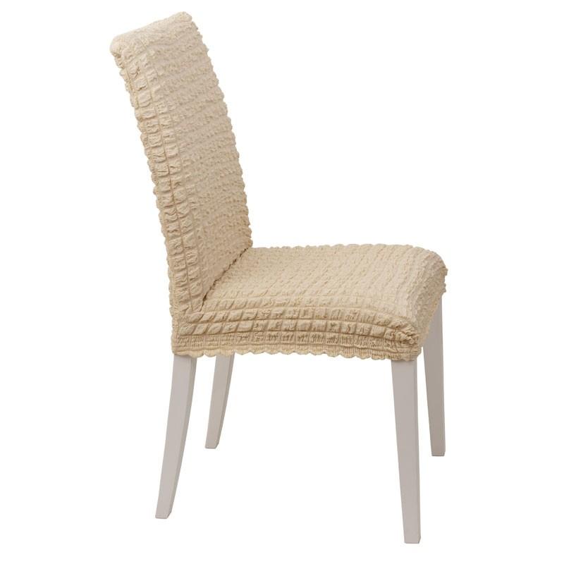 Κάλυμμα Καρέκλας Ελαστικό Viopros Σχ. Casual Χρ. Κρεμ 67200805020