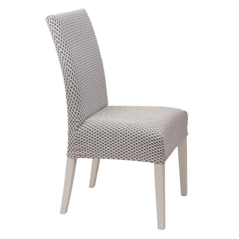 Κάλυμμα Καρέκλας Ελαστικό Viopros Σχ. Σίλβερ Χρ. Ζαχαρί 67201180020