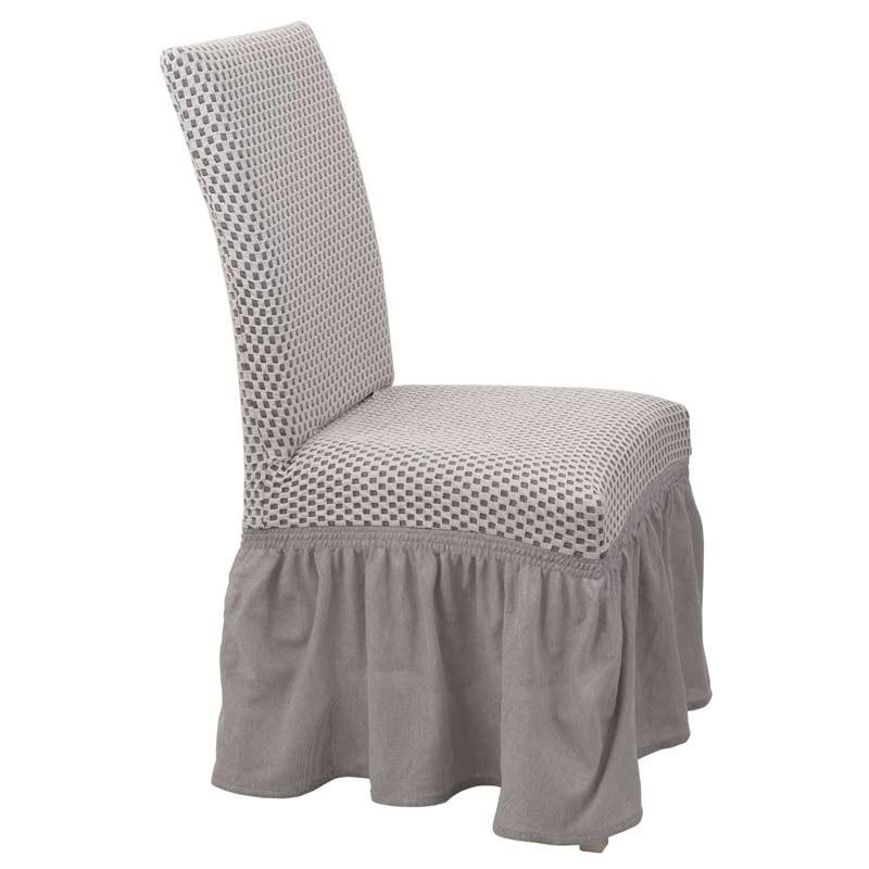 Κάλυμμα Καρέκλας Ελαστικό Viopros Σχ. Σίλβερ Χρ. Ζαχαρί 67101350020