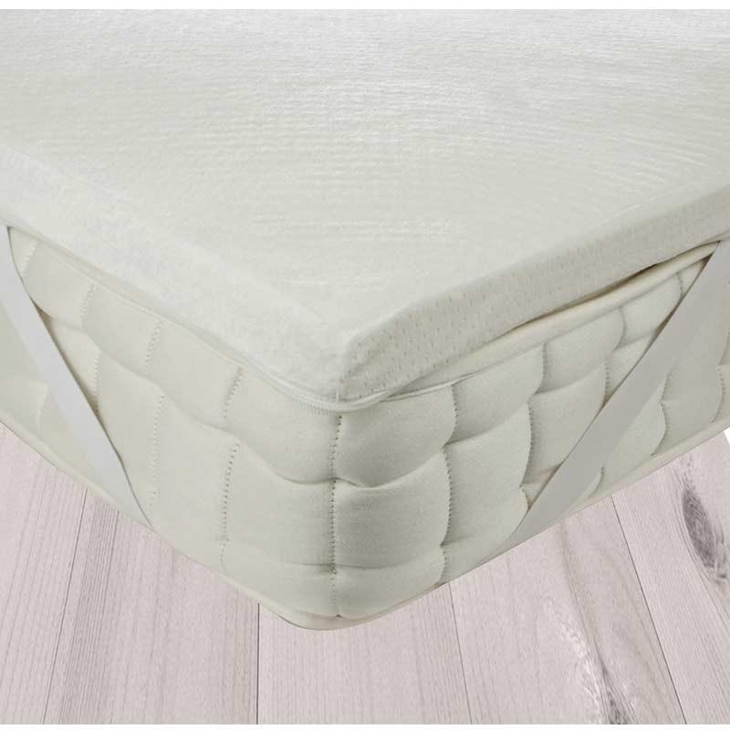 Ανώστρωμα King Size (200x200) AnnaRiska Memory Foam Mattress Topper 929019960020