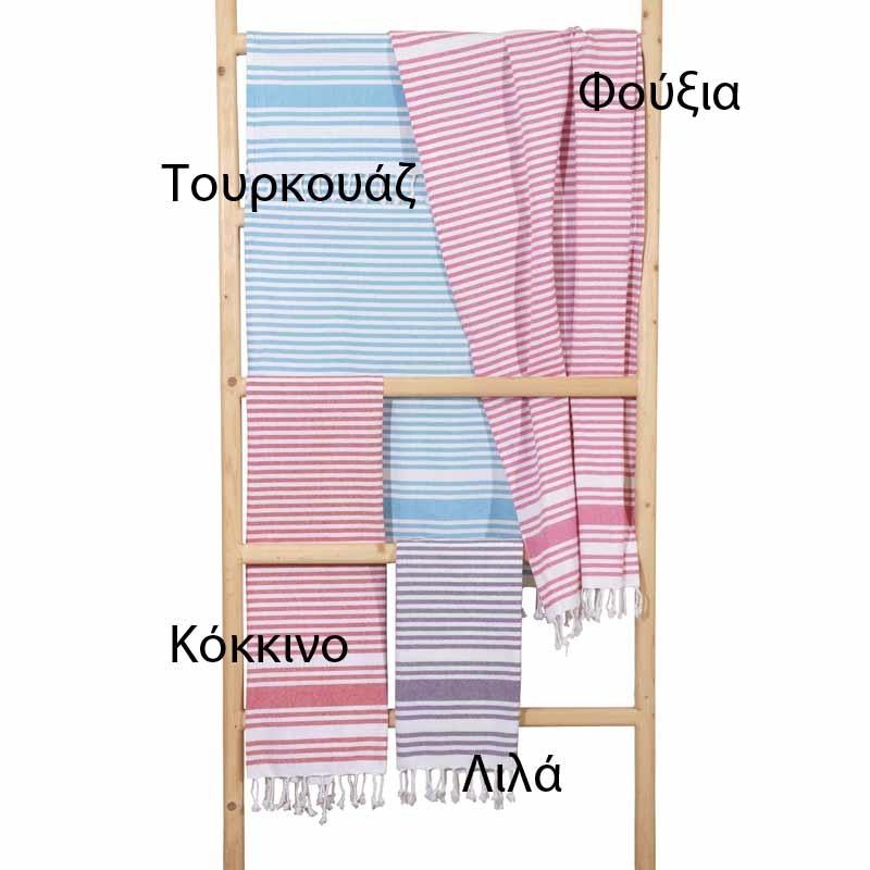 Πετσέτα Θαλάσσης Παρεό Viopros Σχ. Χλόη 31600520010