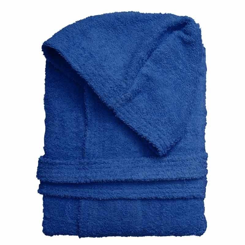 Μπουρνούζι (M, L, XL) Viopros Σχ. Economy με κουκούλα Χρ. Μπλε 66101425030
