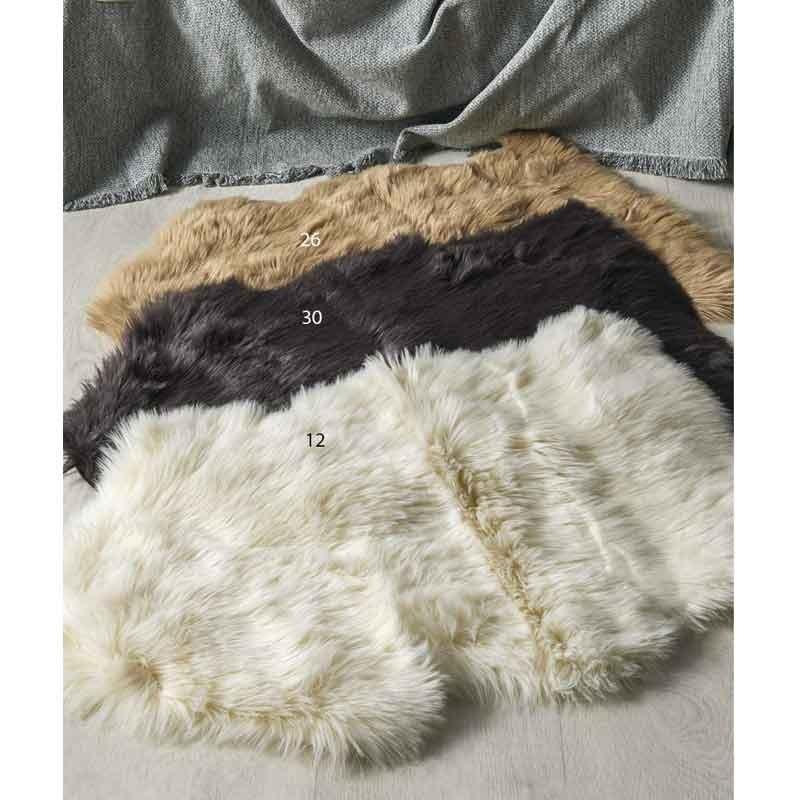 Γούνινο Οικολογικό Χαλάκι (60x90) KENTIA Stylish Shaggy 12