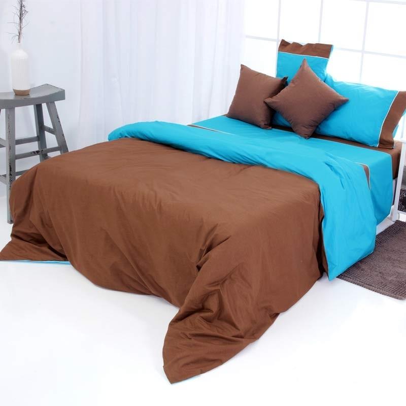Παπλωματοθήκη Υπέρδιπλη Sb Home Simi Chocolate 01.01638
