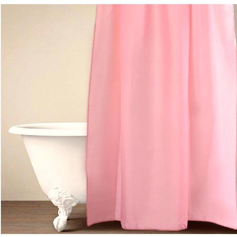 Κουρτίνα Μπάνιου (180X200) Palamaiki HOME Simple Pink 5205857181352