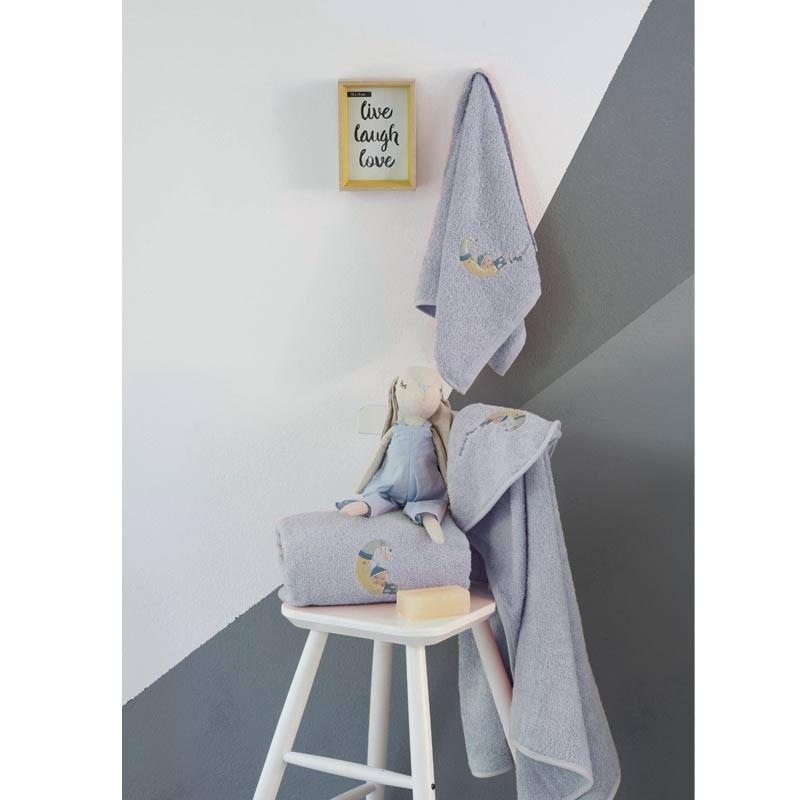 Σετ πετσέτες βρεφικές 2τμχ Makis Tselios home Sleepboy