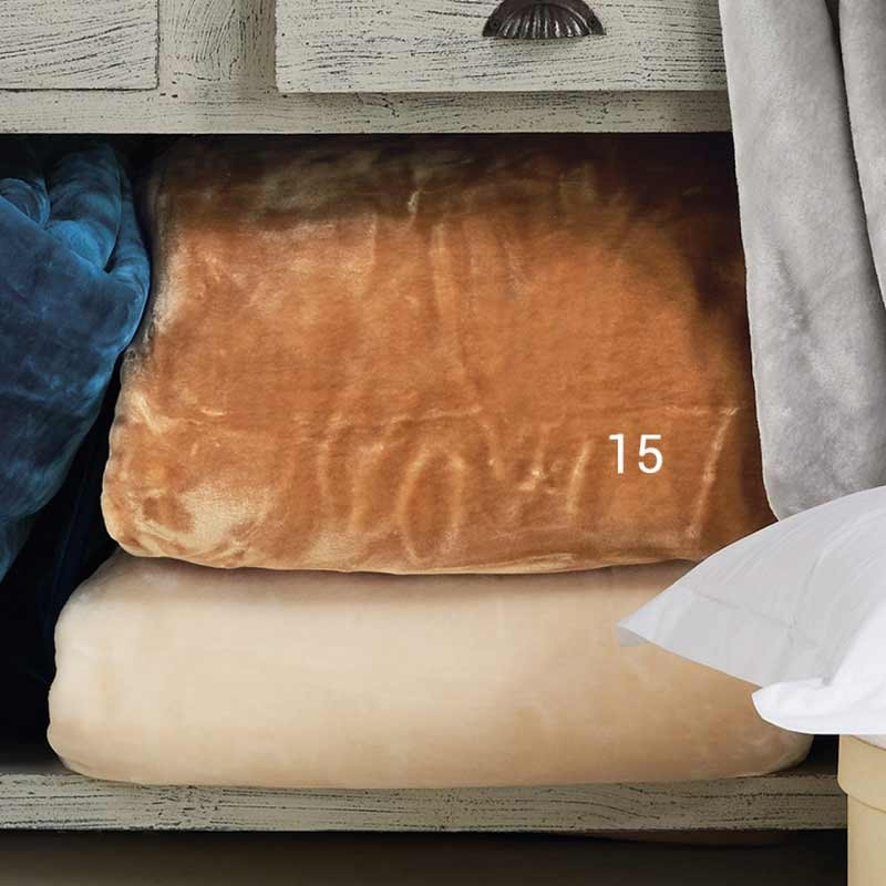 Κουβέρτα Βελουτέ Μονή KENTIA Soft 15