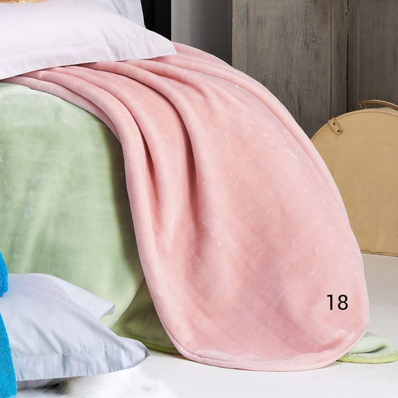 Κουβέρτα Βελουτέ Μονή KENTIA Soft 18