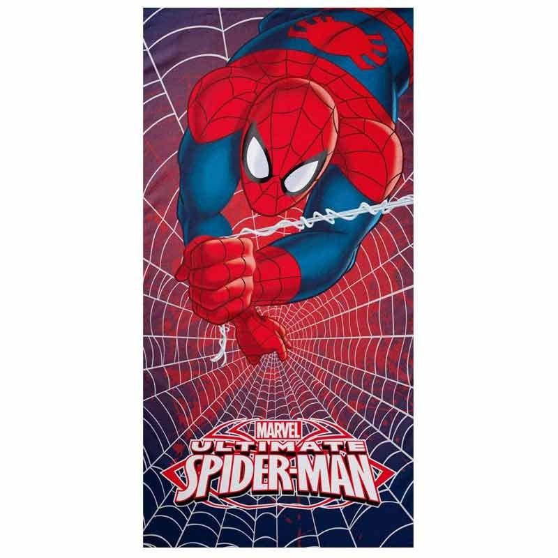 Παιδική Πετσέτα Θαλάσσης Palamaiki Disney Collection Spiderman Heroes