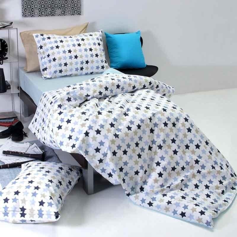 Πάπλωμα Παιδικό Μονό Sb Home Junior Collection Stars Blue 01.01887