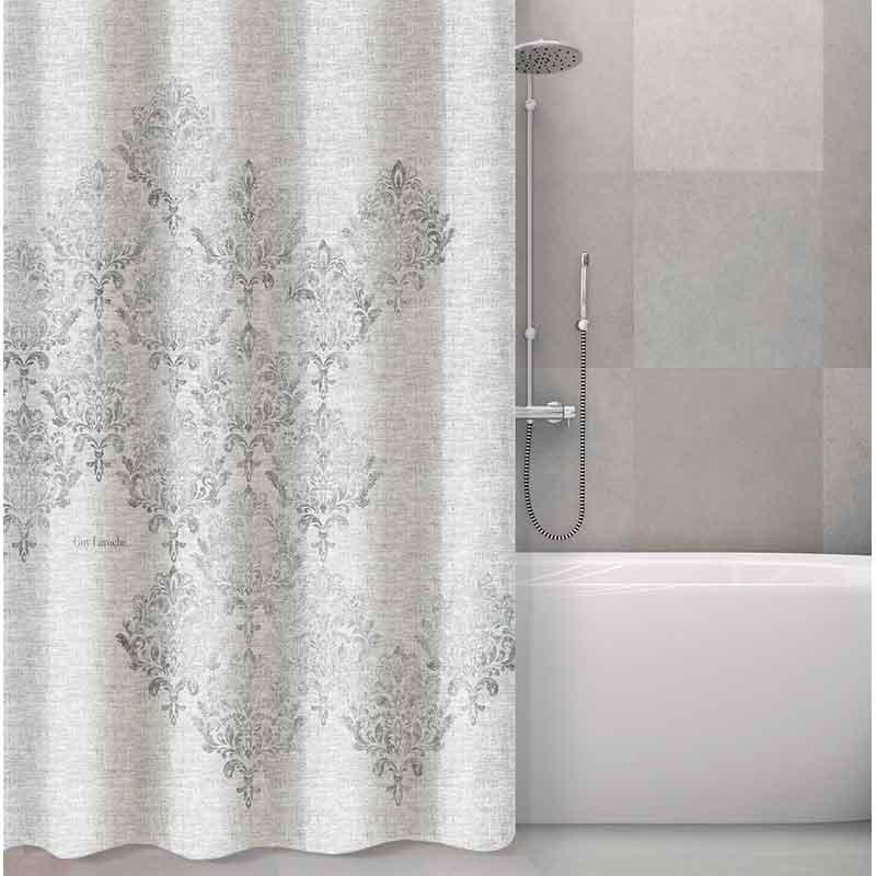 Κουρτίνα Μπάνιου (240x185) Guy Laroche Style Silver 1128030218013